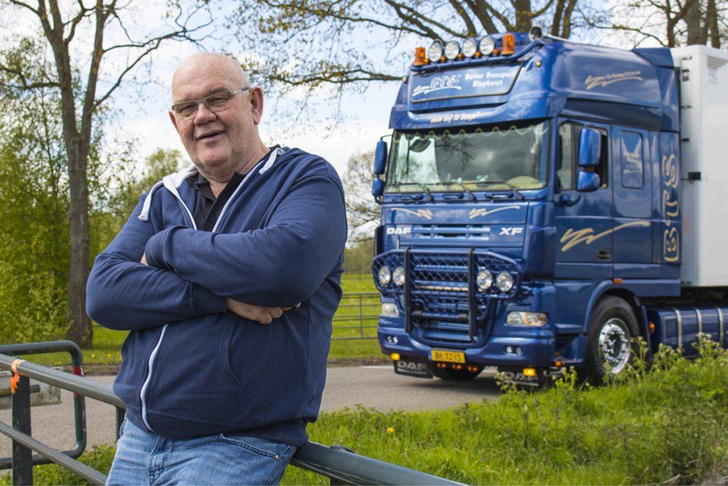 Twee miljoen kilometer afleggen met een DAF vrachtauto? Buiter Transport in Staphorst heeft het voor elkaar gekregen.