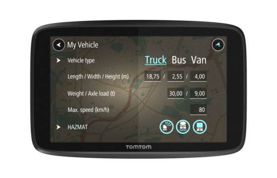 TomTom lanceert nieuwe navigatiereeks voor truckchauffeurs