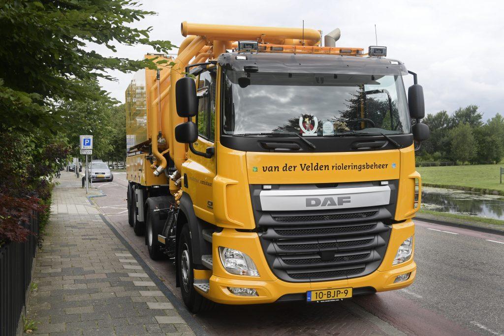 DAF CF voor Van der Velden