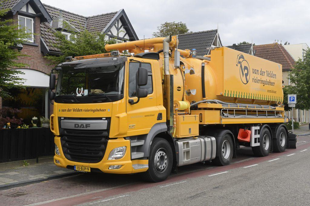 Nieuwe DAF CF Van der Velden