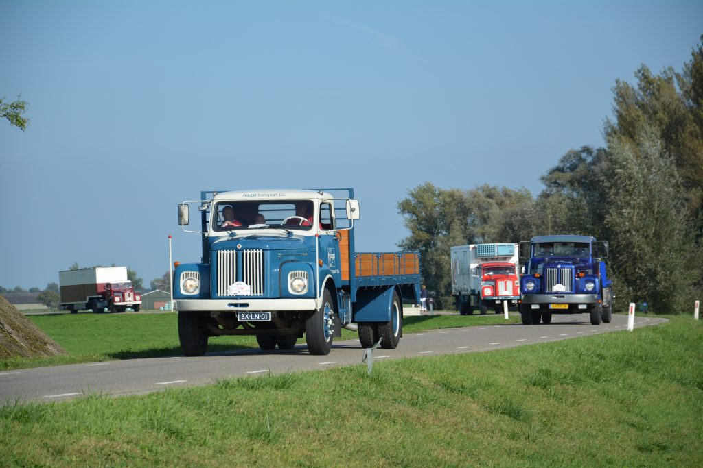 Klassieke Scania toerrit