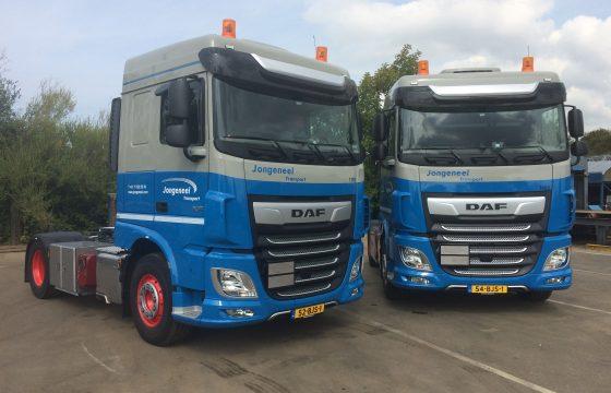 2x nieuwe DAF XF Jongeneel