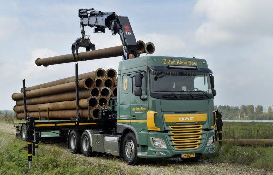 DAf Truck voor bedrijf Jan Kees Boer geleverd door Hoornaar