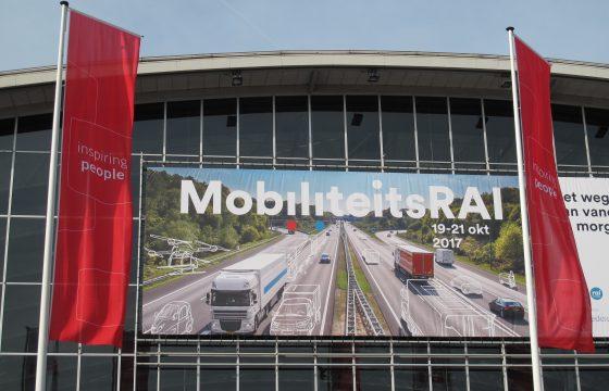 De MobiliteitsRAI, in feite de opvolger van de aloude BedrijfsautoRAI, heeft vanochtend in Amsterdam de deuren geopend