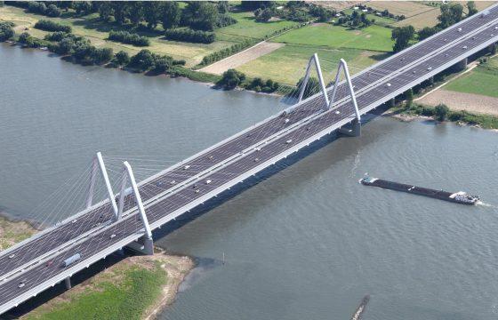 Nieuwe Rijnbrug Leverkusen studie