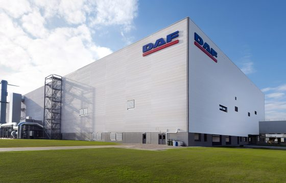 DAF Trucks New Cab Paint Shop in Westerlo Facilities