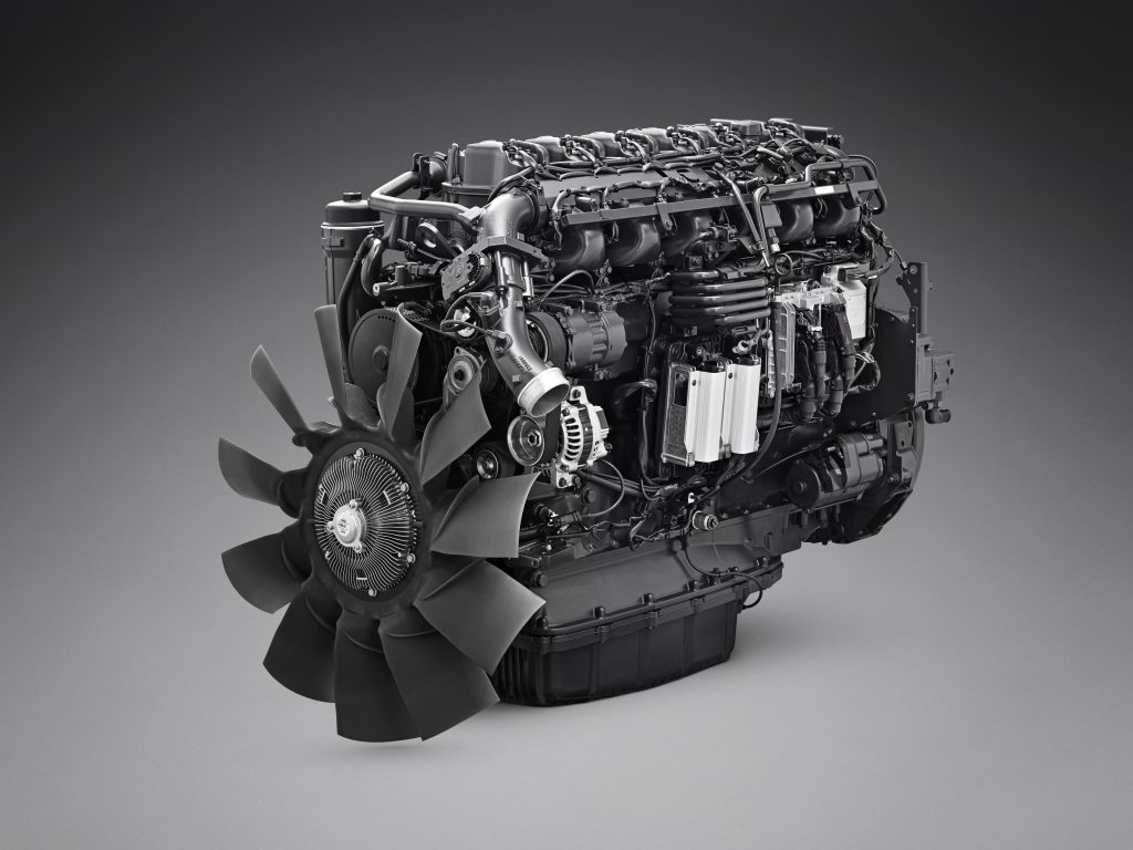 Scania gas engine