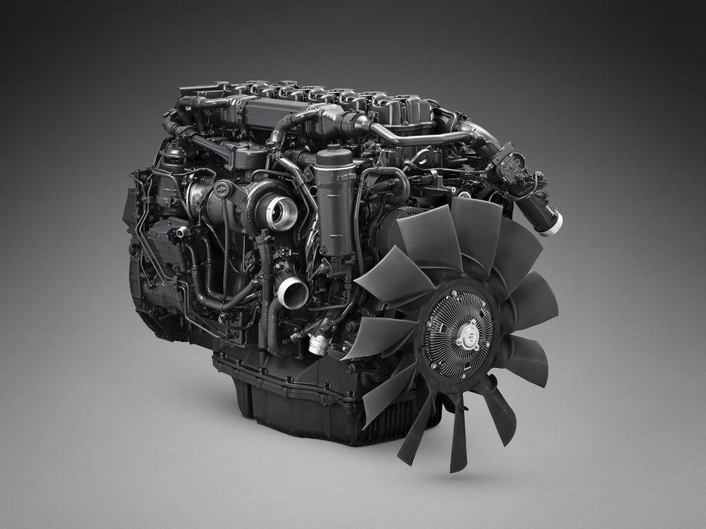 Scania gas engine