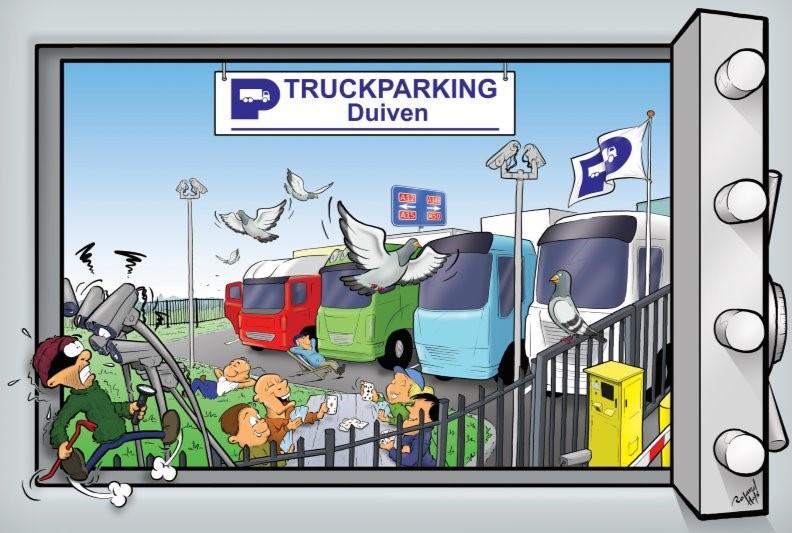 Truckparking Duiven