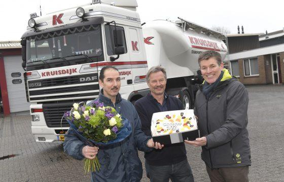 DAF Truck met 2 miljoen kmKruisdijk Transport Zwolle