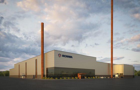 Energiezuinige gieterij Scania Sodertalje