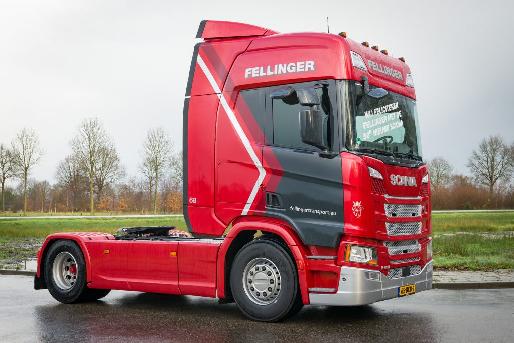 Scania R410 Fellinger