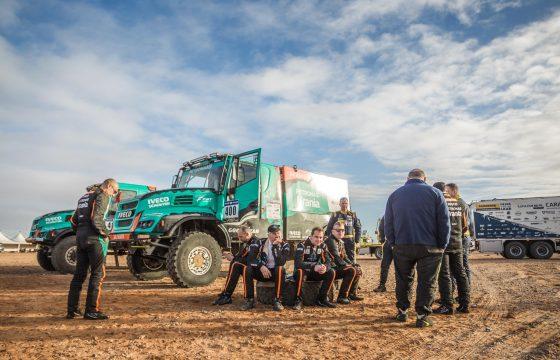 De Rooy Van Ginkel Iveco Africa Eco Race