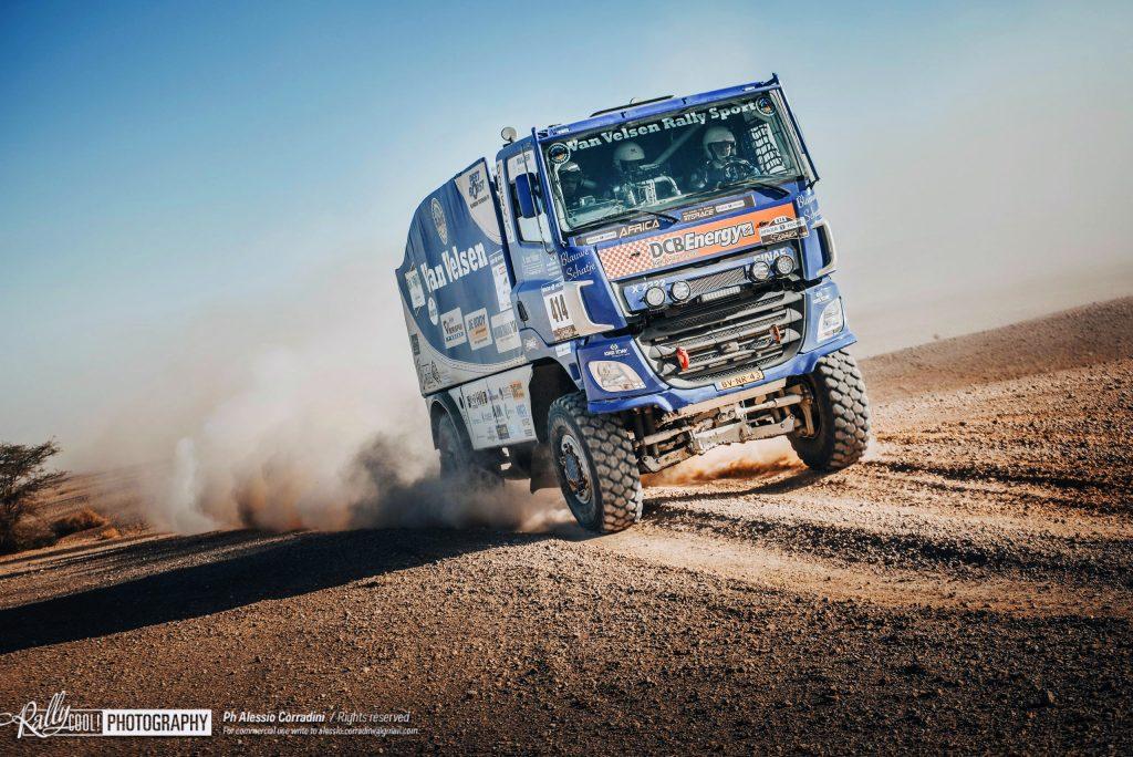 Van Velsen Rally Sport Africa Eco Race