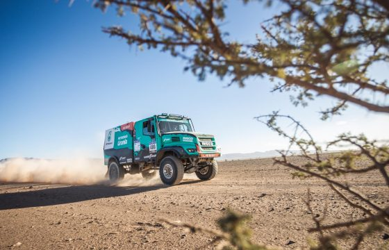 Africa Eco Race De Rooy Iveco