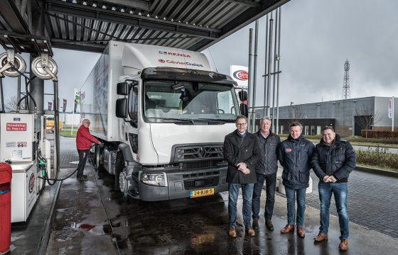 Renault-trucks op HVO voor Rensa_samenwerking_lowres