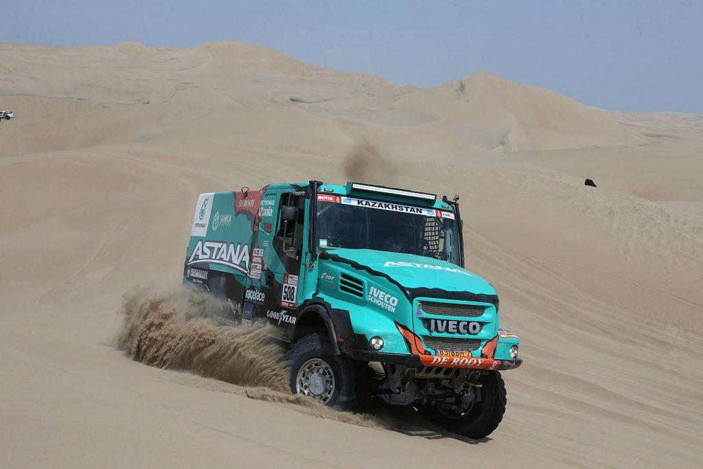 Ton van Genugten Iveco Dakar