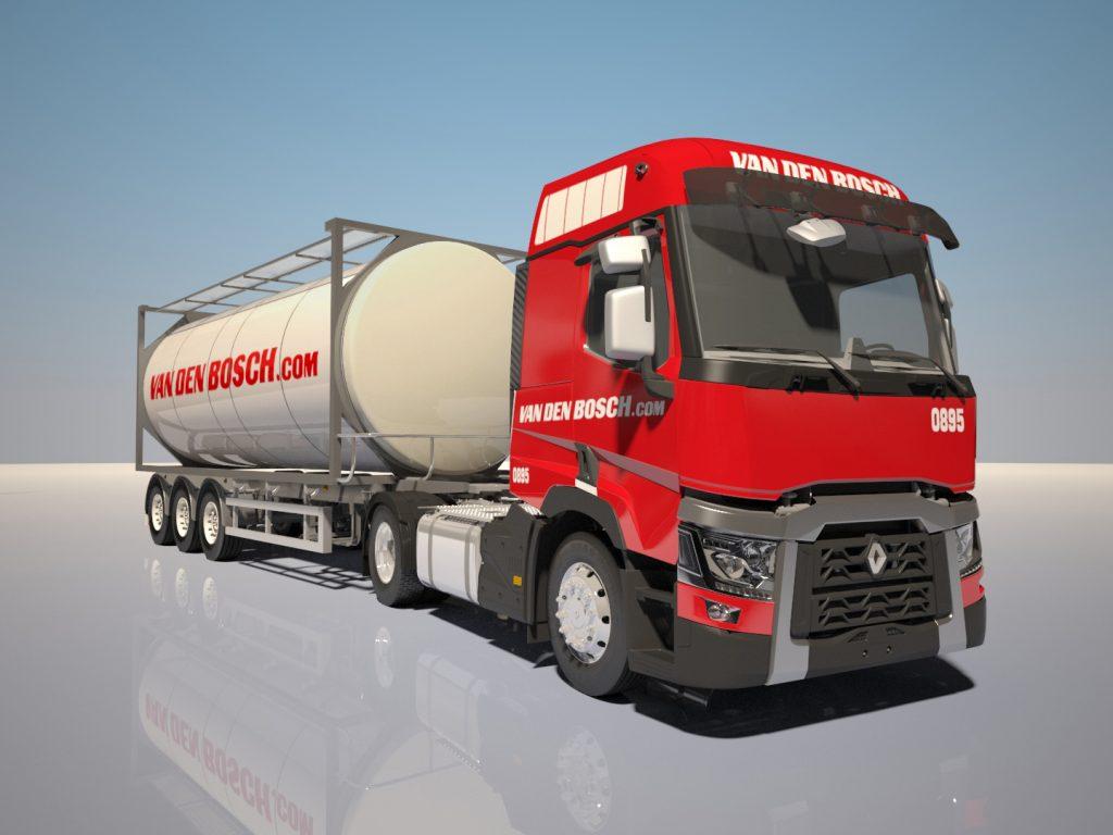 Van den Bosch nieuwe Renault trucks