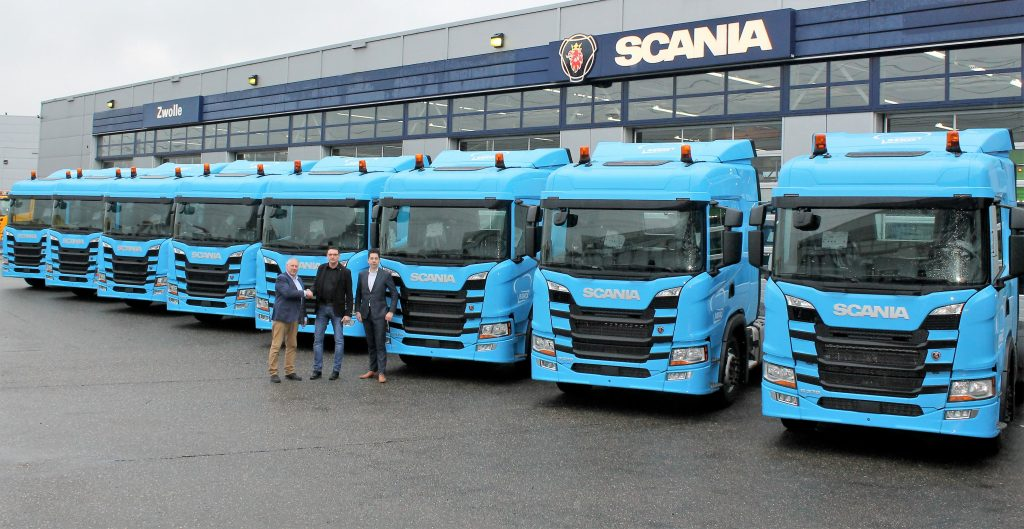 Scania G370 4x2 trekkers beko 1
