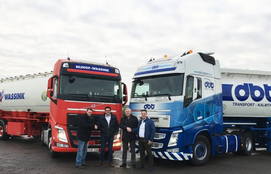 samenwerking Nijhof Wassink en DBT Transport