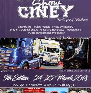 Truckshow Ciney 2018