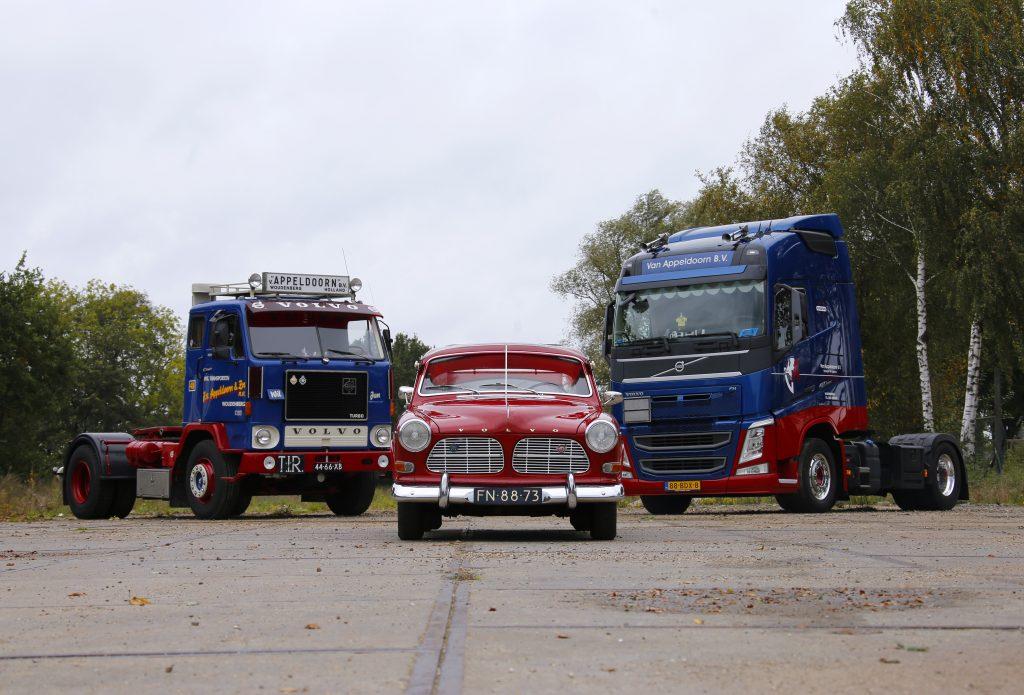 Van Appeldoorn Drie keer Volvo
