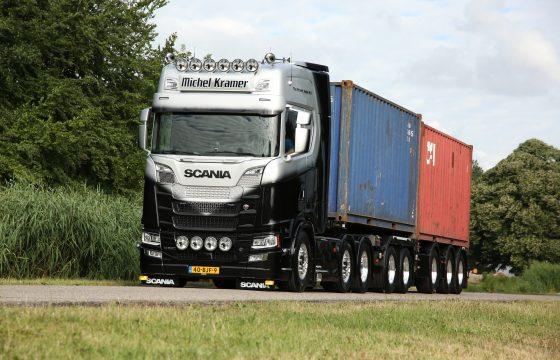 Scania V8 Michel Kramer