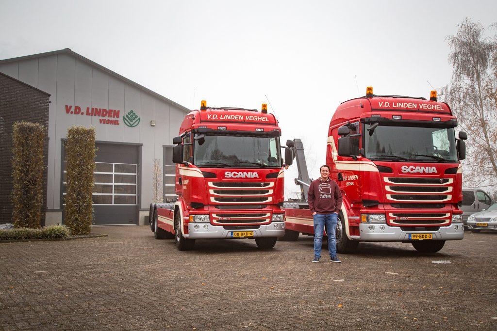 Scania R450 Van der Linden
