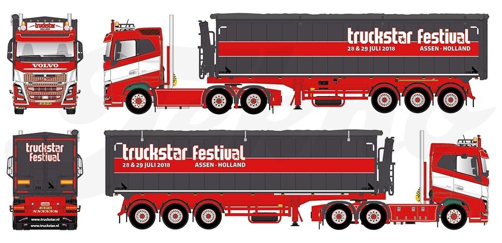 Actie Win Het Truckstar Festival Schaalmodel 2018 Schaal 1 50