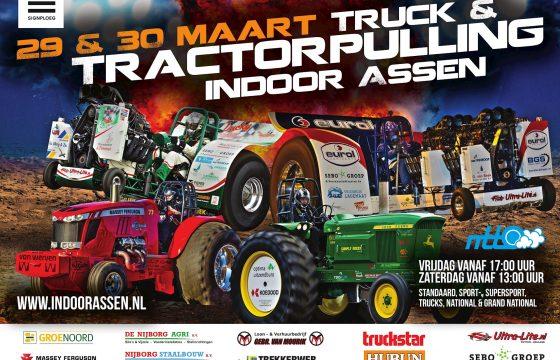 Tractorpulling Indoor Assen