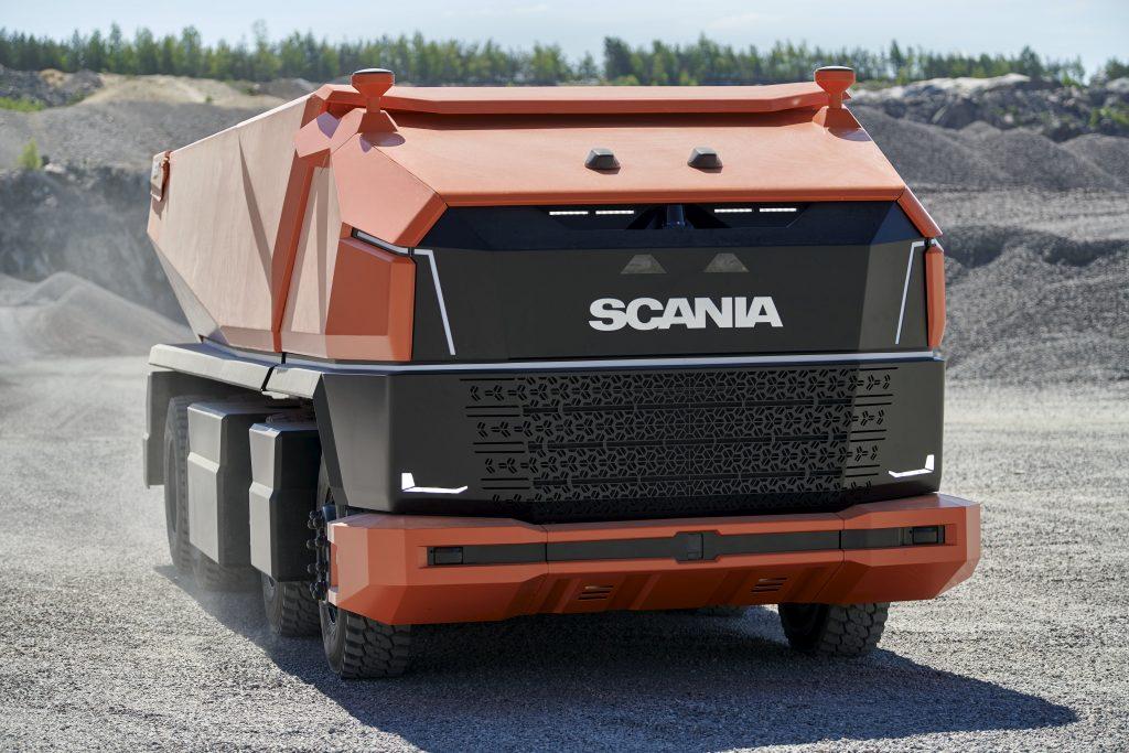 Scania AXl voorkant