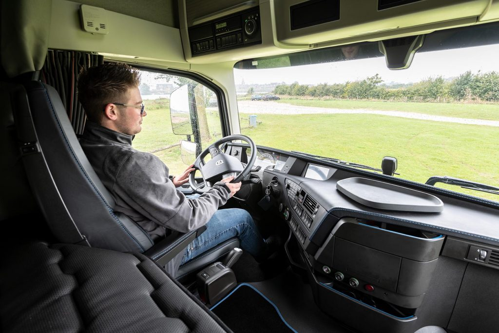 Chauffeur Joey Splithof