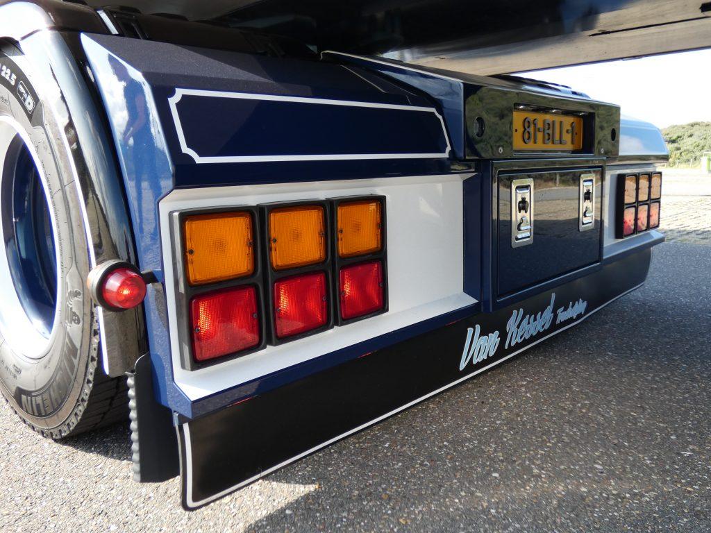Scania achterbumper