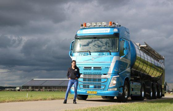 Volvo FH melktruck