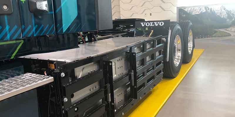 accu's Volvo VNR Electric