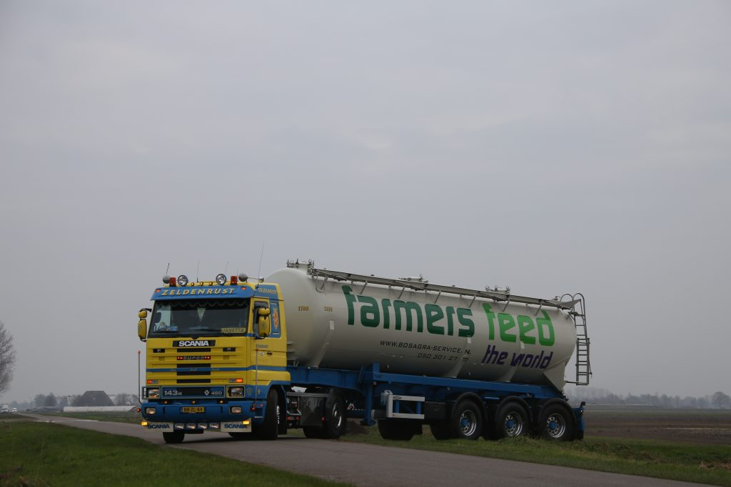 Scania met trailer