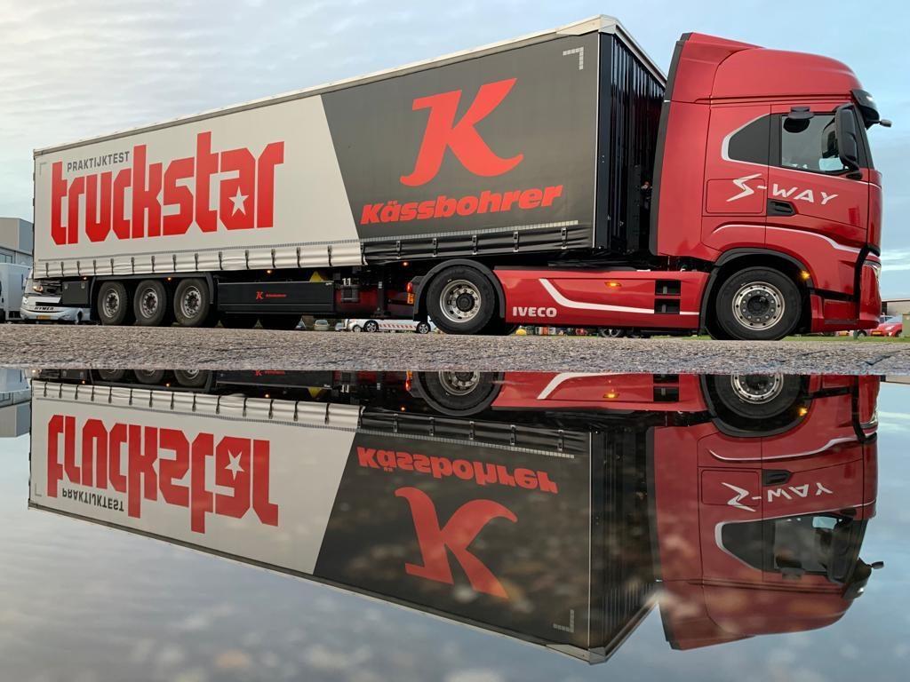Iveco S-Way met Truckstar testtrailer
