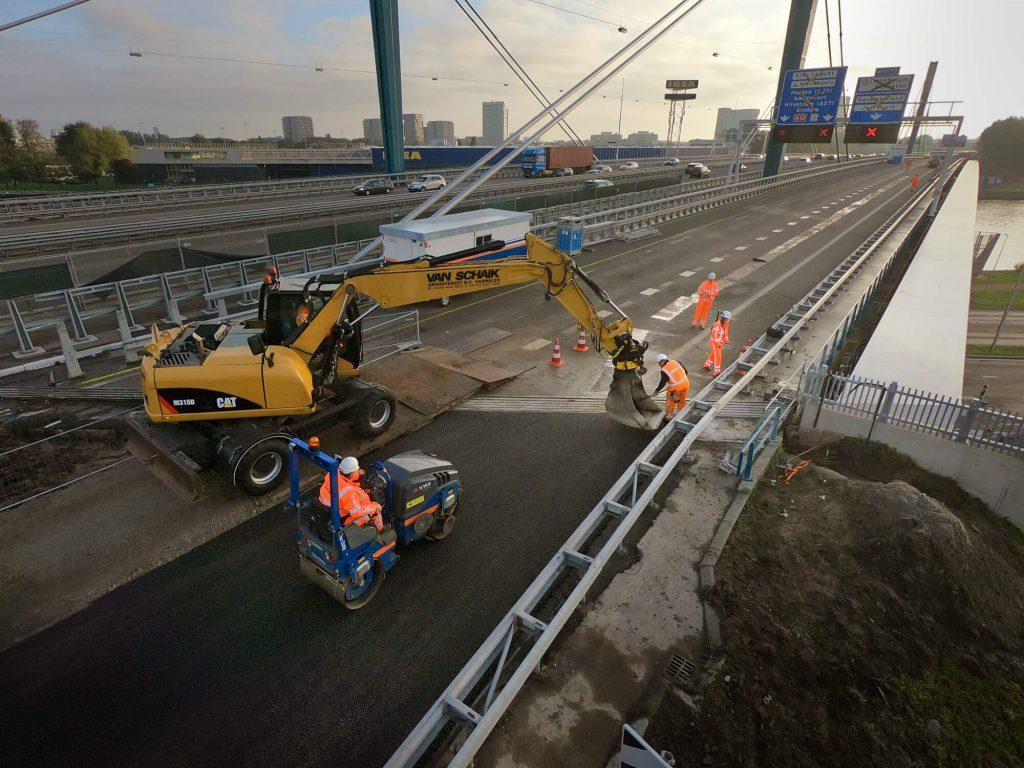 Onderhoud Galecopperbrug A12