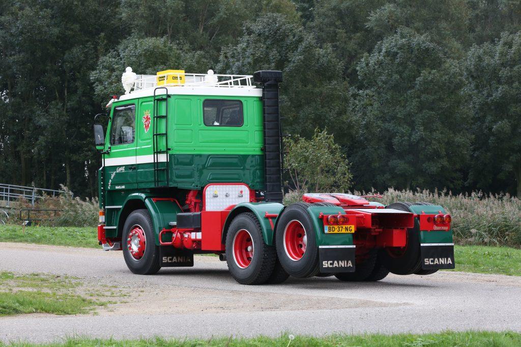 Scania achterkant