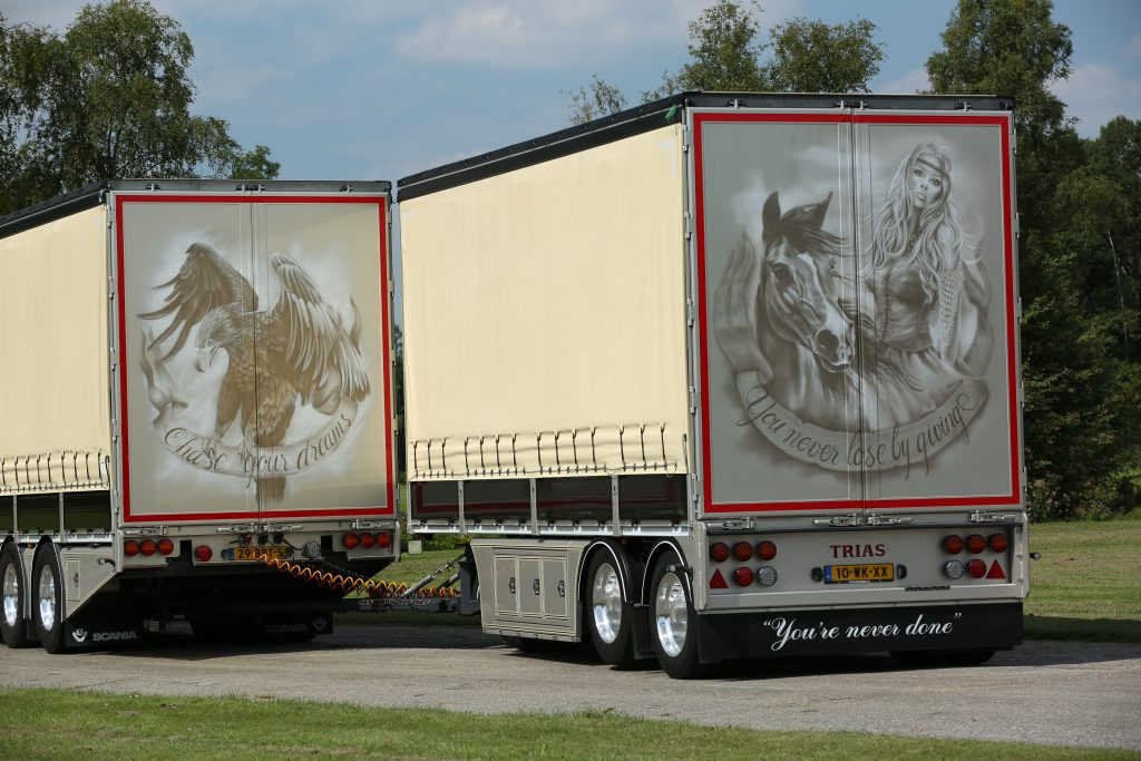 Scania van der Heijden achterkant