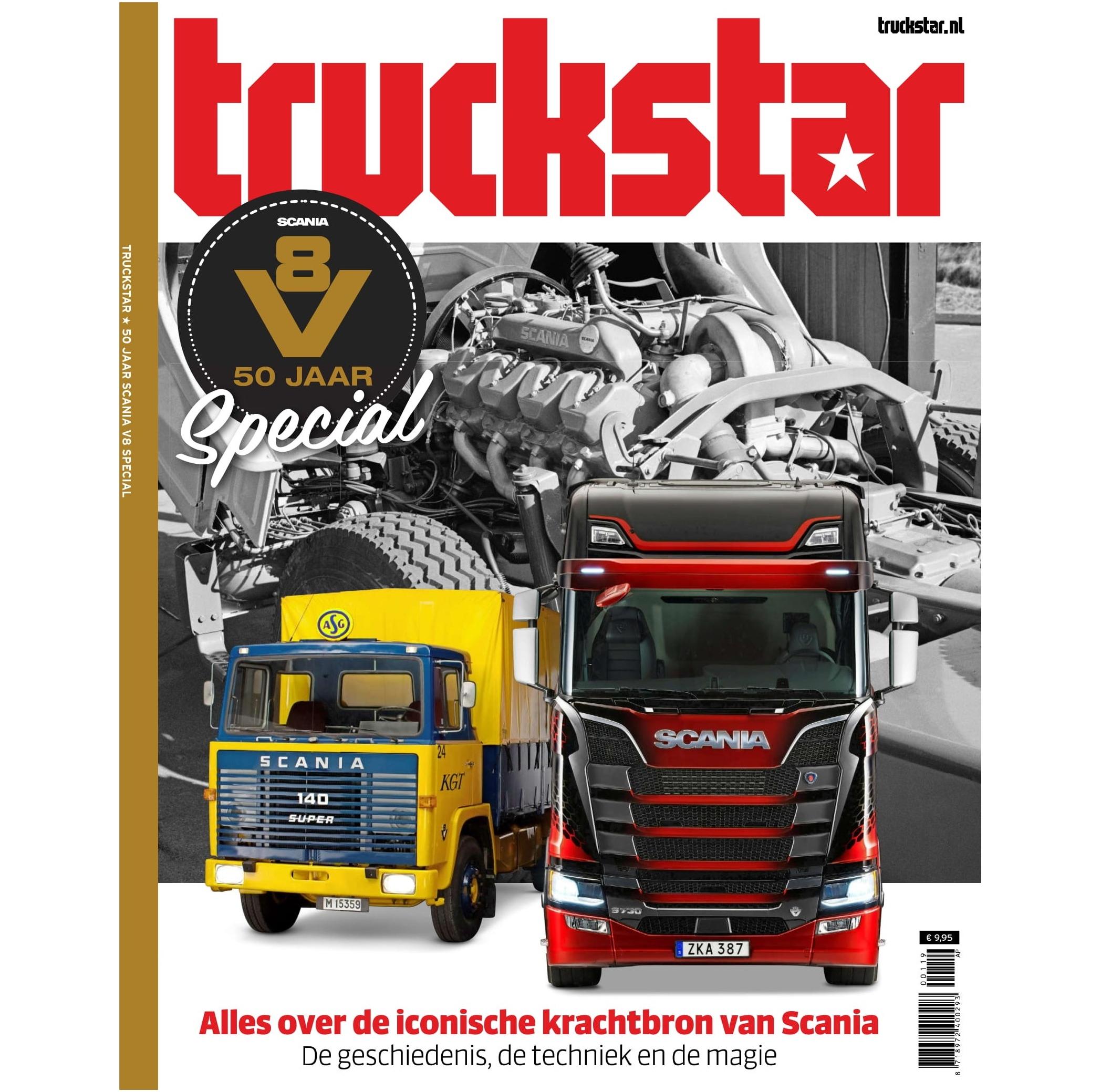 Cover Scania V8 special