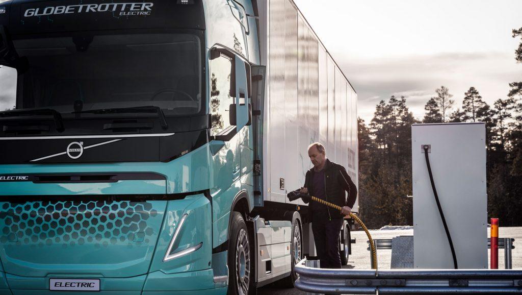 Volvo elektrische concepttruck