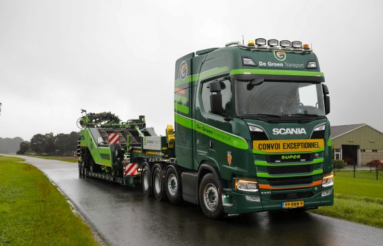 Scania Groen Transport