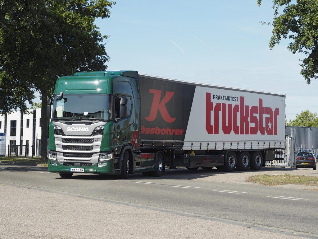 Truckstar praktijktrailer