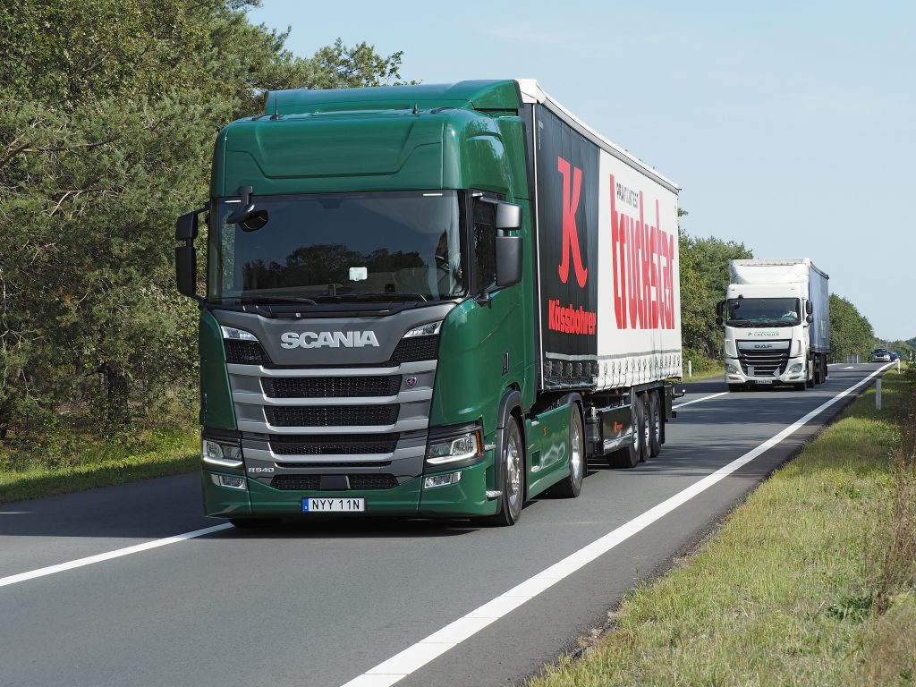 Scania R 540 praktijktest
