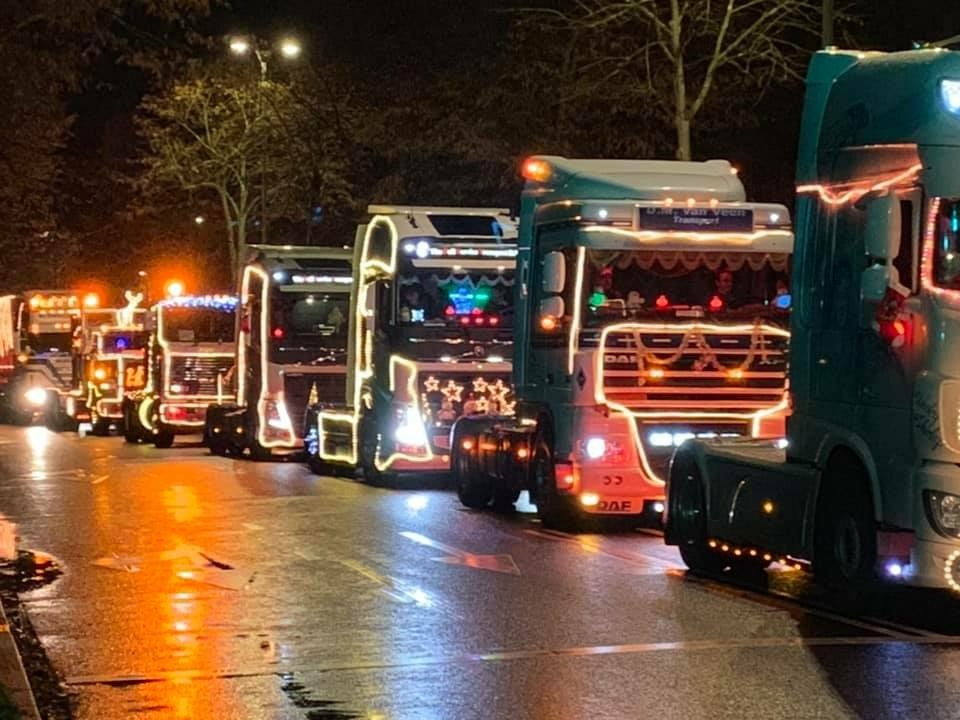 Verlichte Trucks Zeist