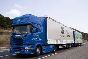 Scania Twin Trailer