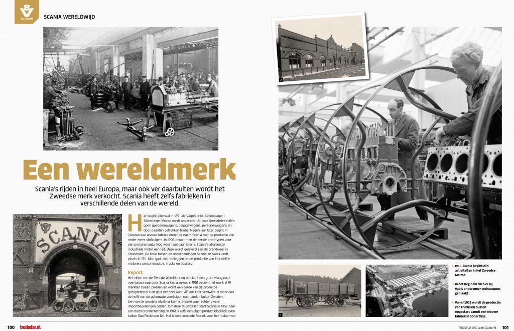 50 jaar Scania V8 Special