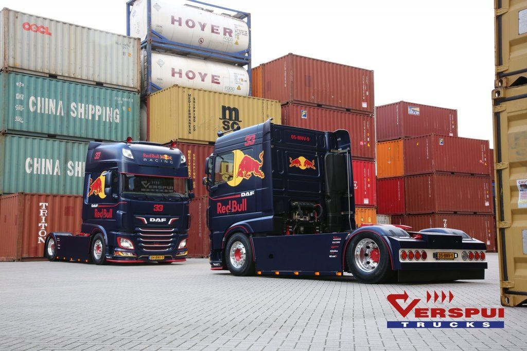 Red Bull Racing DAF's