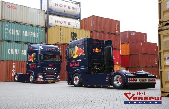 Red Bull Racing DAF's